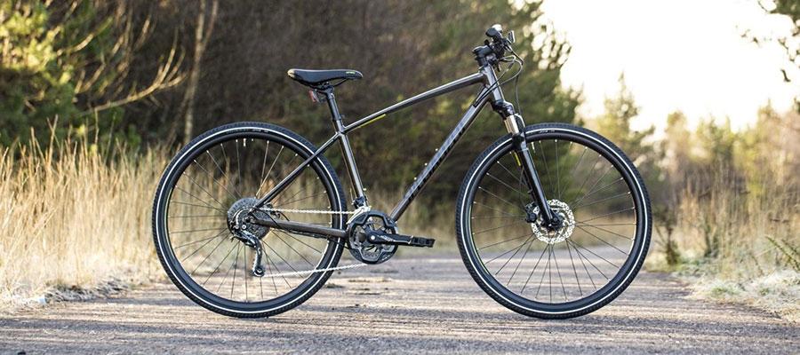 Градски велосипеди с предно окачване