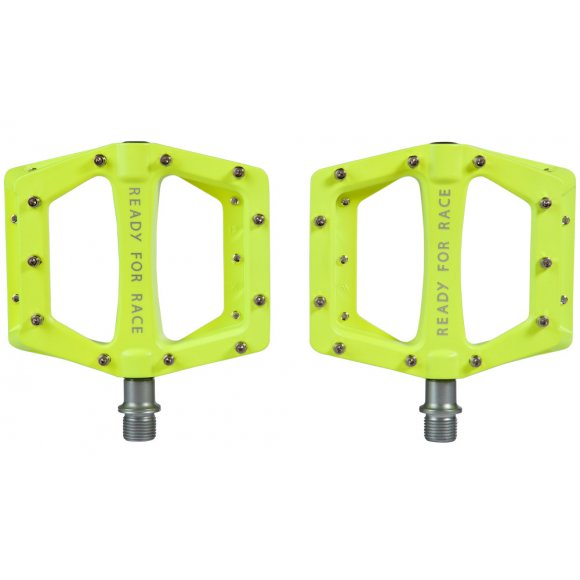 ПЕДАЛИ ПЛАТФОРМЕНИ CUBE RFR FLAT RACE NEON YELLOW