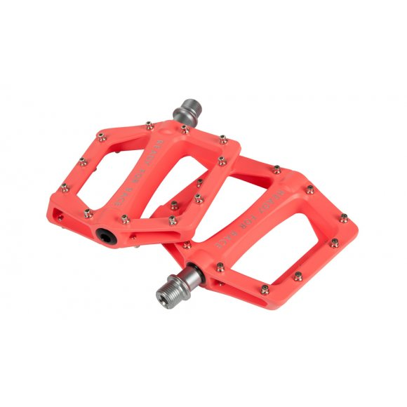 ПЕДАЛИ ПЛАТФОРМЕНИ CUBE RFR FLAT RACE LIGHT RED