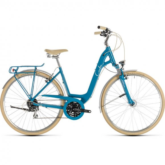 ВЕЛОСИПЕД 28 CUBE ELLA RIDE BLU CREAM EA