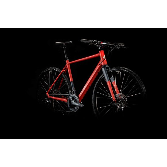 ВЕЛОСИПЕД 28 CUBE SL ROAD RED GRY