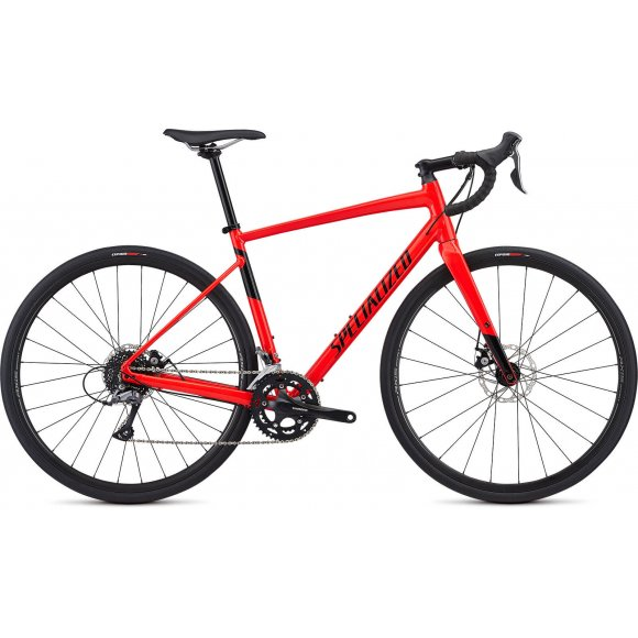 ВЕЛОСИПЕД 28 SPECIALIZED DIVERGE E5 RED BLK