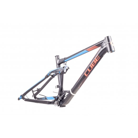 РАМКА 27.5 CUBE STEREO 160 HPA RACE BLACK RED 20
