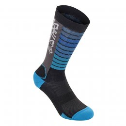 ЧОРАПИ ALPINESTARS DROP BLK AQUA