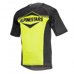 ДЖЪРСИ SS ALPINESTARS MESA BLACK YELLOW