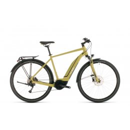 ВЕЛОСИПЕД 28 CUBE TOURING HYB ONE 500 GRN WHT