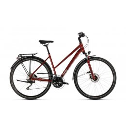 ВЕЛОСИПЕД 28 CUBE TOURING EXC RED GRY Z