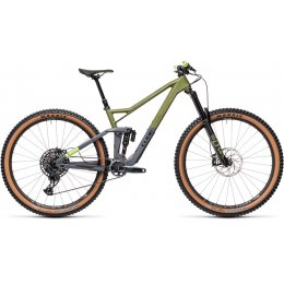 ВЕЛОСИПЕД 29 CUBE STEREO 150 C:62 RACE OLIVE