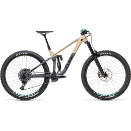 ВЕЛОСИПЕД 29 CUBE STEREO 170 RACE DESERT GRY