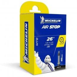 ВЪТРЕШНА ГУМА 26 MICHELIN AIR STOP 1.5-2.50 PV