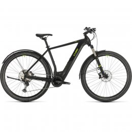 ВЕЛОСИПЕД 28 CUBE CROSS HYB RACE 500 ALL BLK