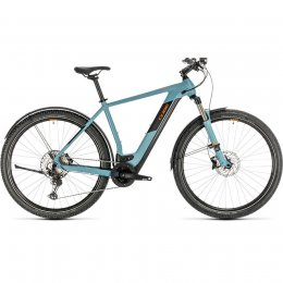 ВЕЛОСИПЕД 28 CUBE CROSS HYB RACE 500 ALL BLU