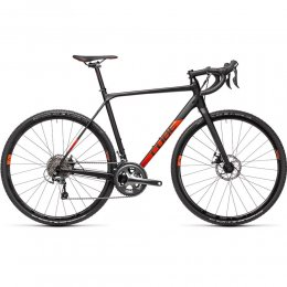 ВЕЛОСИПЕД 28 CUBE CROSS RACE BLK RED