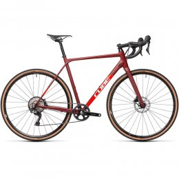 ВЕЛОСИПЕД 28 CUBE CROSS RACE SL RED RED