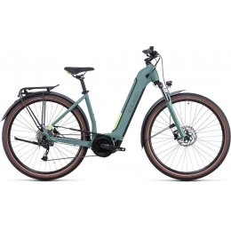 ВЕЛОСИПЕД 28 CUBE TOURING HYB ONE 500 GRN E