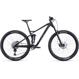 ВЕЛОСИПЕД 29 CUBE STEREO 120 RACE BLK ANODIZED