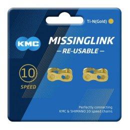 ПРЕШЛЕН ЗА ВЕРИГА KMC 10S GOLD X2