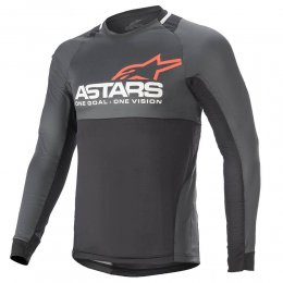 ДЖЪРСИ LS ALPINESTARS DROP 8.0 BLACK CORAL