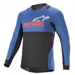 ДЖЪРСИ LS ALPINESTARS DROP 8.0 MID BLUE RED