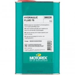 МАСЛО MOTOREX MINERAL OIL HYDRAULIC FLUID 75 1L