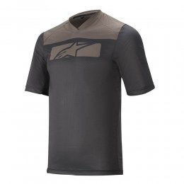 ДЖЪРСИ SS ALPINESTARS DROP 4.0 BLK DARK SHADOW