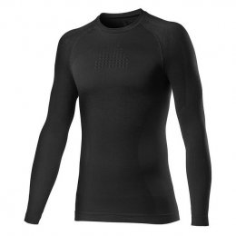 ДЖЪРСИ UNDER LS CASTELLI CORE SEAMLESS BLACK
