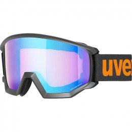МАСКА UVEX ATHLETIC CV BLACK M SL BLUE-ORANGE