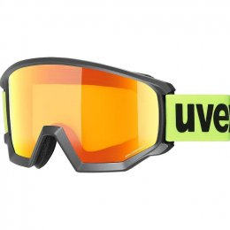 МАСКА UVEX ATHLETIC CV BLACK M SL ORANGE-YELLOW