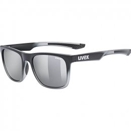 ОЧИЛА UVEX LGL 42 BLACK TRANSPARENT MIRSILVER