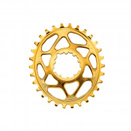 ПЛОЧА AB OVAL SRAM DM GXP NW GLD 6 OFF 28T