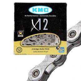 ВЕРИГА KMC X12 SILVER 12S 126L