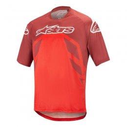 ДЖЪРСИ SS ALPINESTARS RACER V2 RED RED WHT