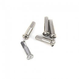 НИПЛА CN NIPPLE BRASS NICKEL SILVER