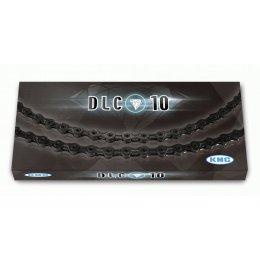 ВЕРИГА KMC DLC 10 BLACK 10S 116L