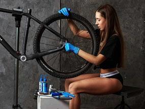 Намаление на всички продукти за поддръжка и 30% отстъпка от сервиз + безплатен преглед на колелото