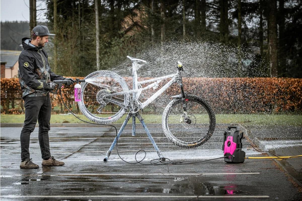 Почистване на велосипеда