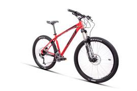 Велосипед RAM HT1 в червен цвят