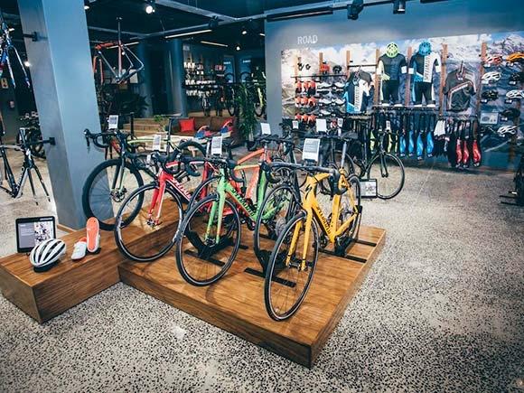 Магазини и сервизи Bike Center