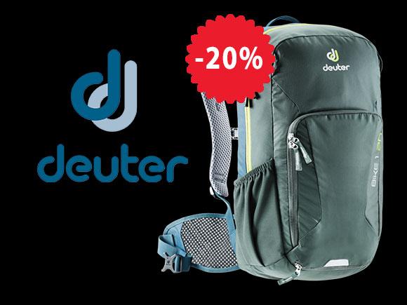 -20% намаление на Deuter